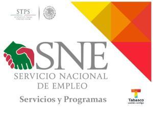 Servicios y Programas