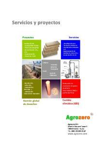 Servicios y proyectos
