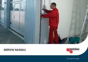 SERWIS NASSAU. You know the Quality