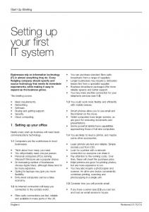 Setting up your first IT system