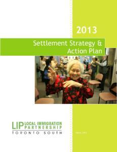 Settlement Strategy & Action Plan