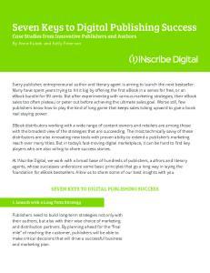 Seven Keys to Digital Publishing Success