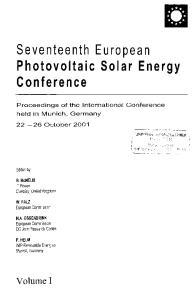 Seventeenth European Photovoltaic Solar Energy Conference
