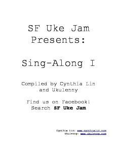 SF Uke Jam Presents: Sing-Along I