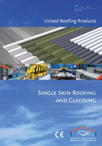 SfB (4-) Nh2. August United Roofing Products. Single Skin Roofing and Cladding