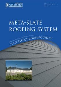 SfB (47) Nh2. October meta-slate. roofing system