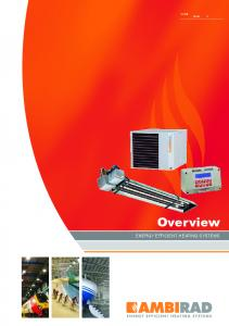 SfB X. Overview ENERGY EFFICIENT HEATING SYSTEMS