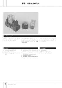 SFR - Industrierelais