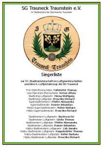 SG Trauneck Traunstein e.v. im Stadtverband der Sportvereine Traunstein