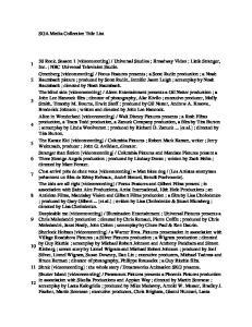 SGA Media Collection Title List