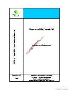 Shannonside Milk Products Ltd