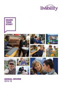 SHARE YOUR STORY ANNUAL REVIEW