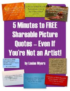 Shareable Picture Quotes Even If You re Not an Artist!