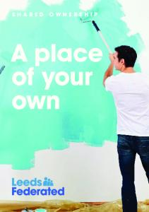 SHARED OWNERSHIP. A place of your own
