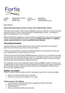 Shared Ownership Homes for Tenbury View, Oldwood Road, Tenbury