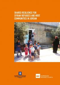 SHARED RESILIENCE FOR SYRIAN REFUGEES AND HOST COMMUNITIES IN JORDAN