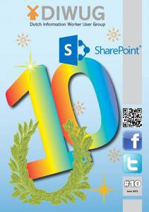 SharePoint #10. June 2013