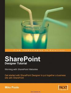 SharePoint Designer Tutorial