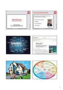 Sharing Economy: Teile und verdiene?