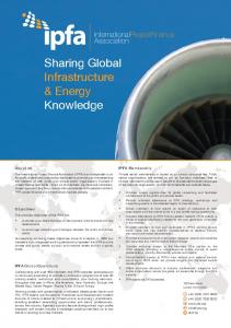 Sharing Global Infrastructure & Energy Knowledge
