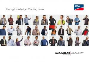 Sharing knowledge. Creating future