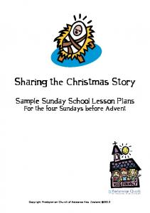Sharing the Christmas Story