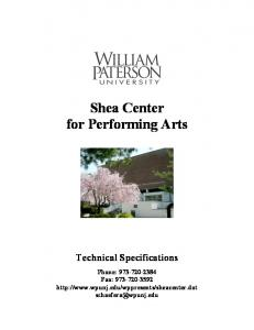 Shea Center for Performing Arts