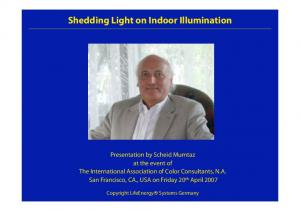 Shedding Light on Indoor Illumination