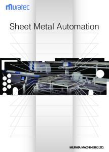 Sheet Metal Automation