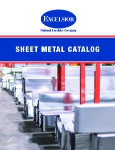 SHEET METAL CATALOG 1