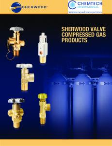 SHERWOOD VALVE COMPRESSED GAS PRODUCTS