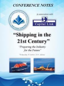 Shipping in the 21st Century