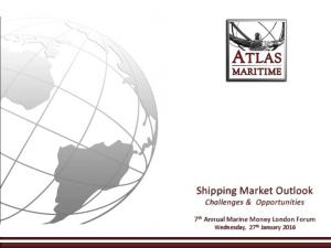 Shipping Market Outlook Challenges & Opportunities