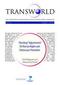 Shocking Adjustments? EU Human Rights and Democracy Promotion