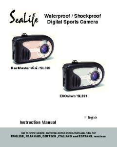 Shockproof Digital Sports Camera