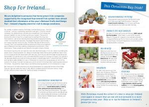 Shop For Ireland. This Christmas Buy Irish!