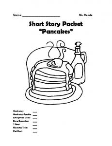 Short Story Packet Pancakes