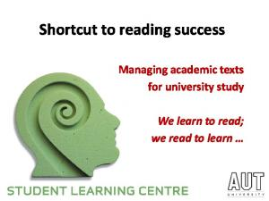 Shortcut to reading success
