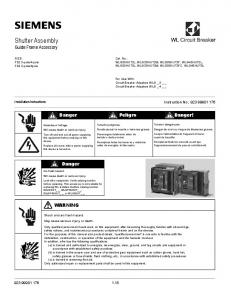 Shutter Assembly Guide Frame Accessory