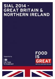 SIAL GREAT BRITAIN & NORTHERN IRELAND
