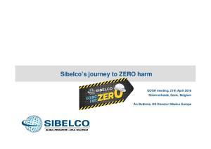 Sibelco s journey to ZERO harm