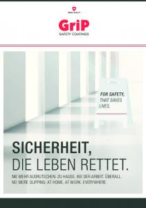 SICHERHEIT, DIE LEBEN RETTET. FOR SAFETY, THAT SAVES LIVES