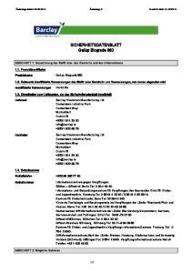 SICHERHEITSDATENBLATT Gallup Biograde 360