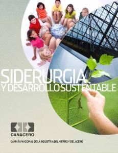 Siderurgia. y Desarrollo Sustentable