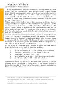 Siehe Abschnitt Die Medaillen, Orden und Ehrenzeichen von Wilhelm in diesem Kapitel