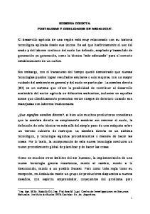 SIEMBRA DIRECTA. FORTALEZAS Y DEBILIDADES EN ANDALUCIA *