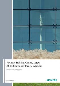 Siemens Training Centre, Lagos