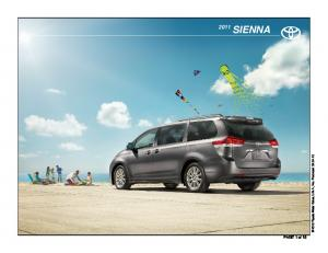 SIENNA Toyota Motor Sales, U.S.A., Inc. Produced PAGE 1 of 18