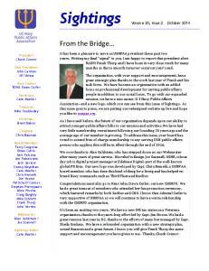 Sightings. From%the%Bridge %