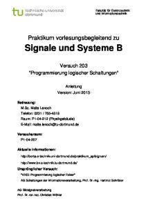 Signale und Systeme B